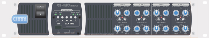 Cloud Electronics to launch New 46/120 Mixer Amplifier at ISE 2013 in Amsterdam