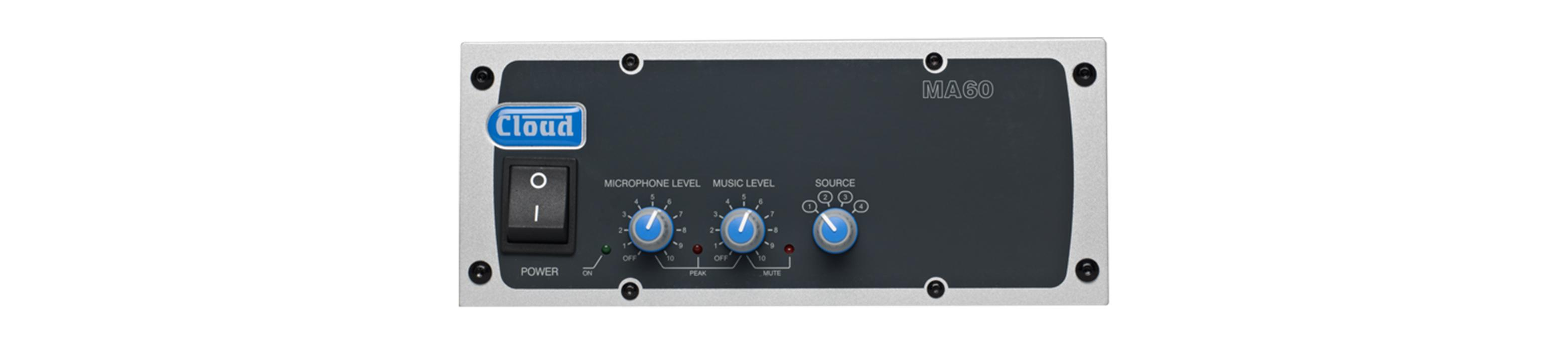MA60 Mixer Amplifier